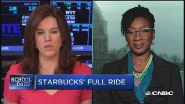 Starbucks employees assets: Economist