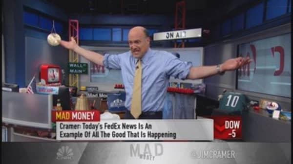 Cramer approves FedEx-TNT Express deal