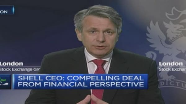 BG deal more about gas than oil: Shell CEO
