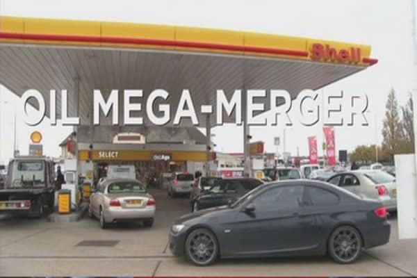 Shell's mega-merger