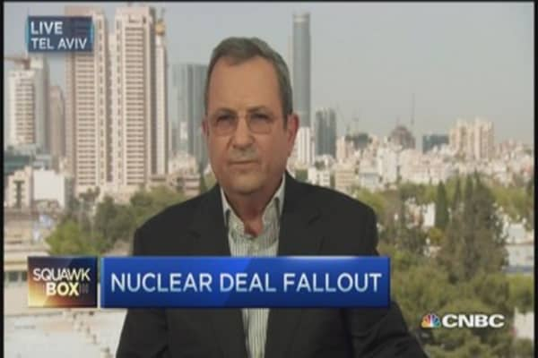 What Iran nuke deal means for Israel: Ehud Barak