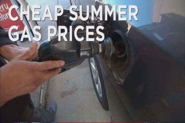 Gas prices could be lowest since 2009
