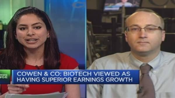 This is what's driving biotech