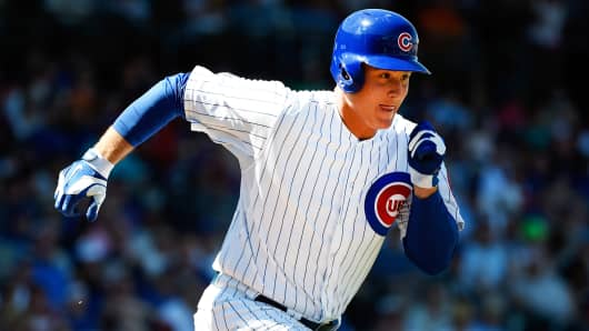 Anthony Rizzo of the Chicago Cubs