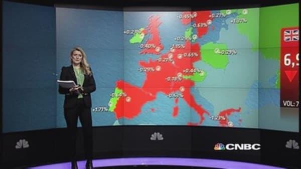 Oil stocks surge on M&A, Europe closes flat