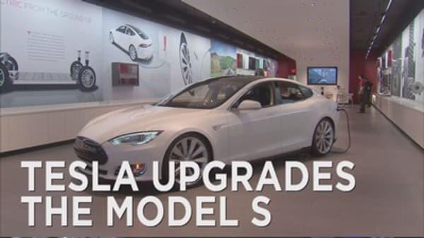 Tesla gives sedan a big upgrade
