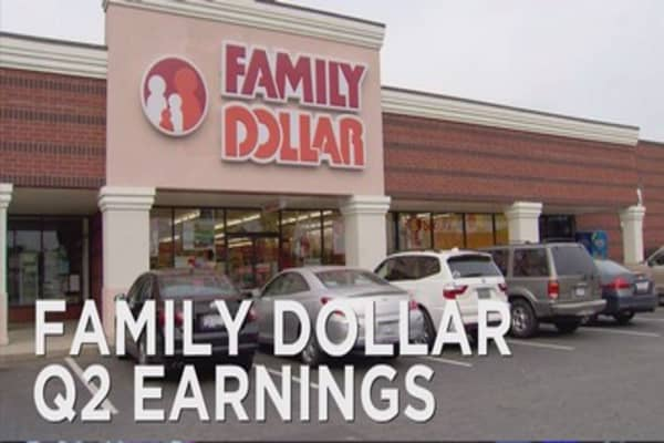 Family Dollar disappoints investors