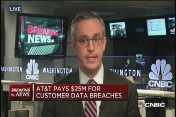 AT&T data breaches revealed
