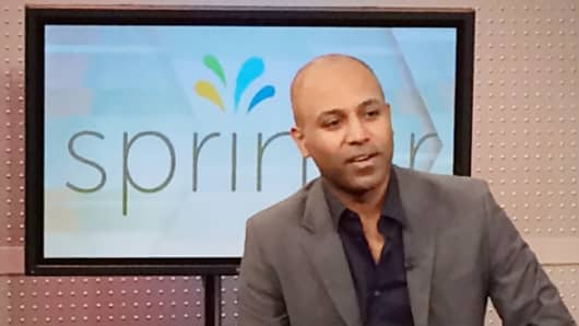 Sprinklr founder and CEO Ragy Thomas.