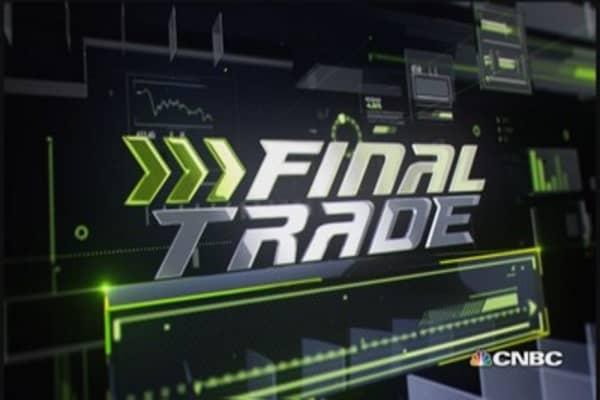 Fast Money Final Trade: ABT, DIS, NKE & YHOO