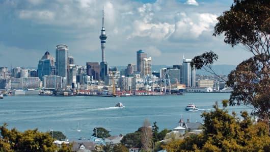 North Island, Auckland, New Zealand.