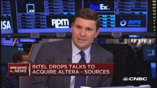 Intel drops talks to acquire Altera: Source