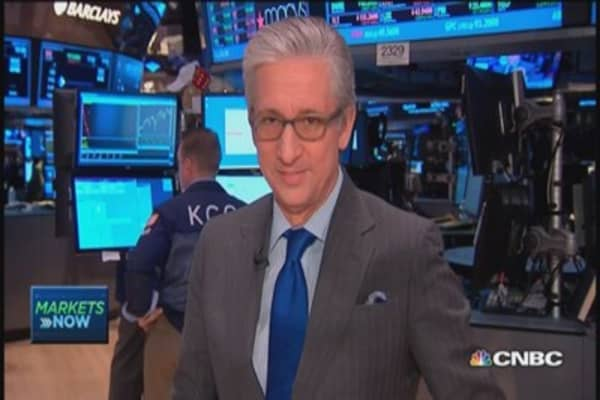 Pisani's market open: March retail sales disappointing