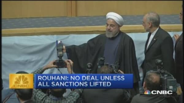 CNBC update: Iran will not sign deal unless...