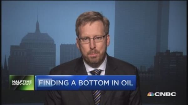 Finding a bottom in oil
