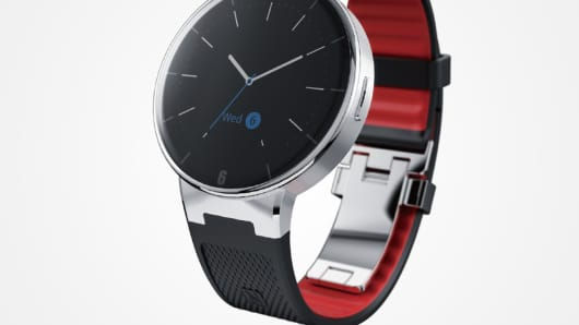 The Alcatel OneTouch Watch.