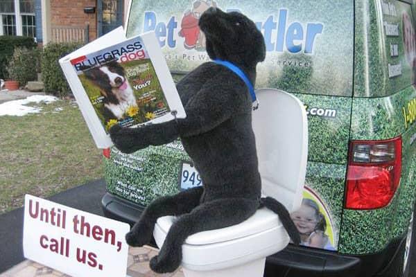 Pet Butler marketing display