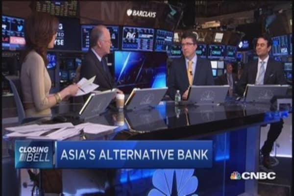 Asia's alternative bank