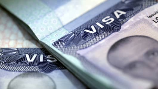 U.S. Visa and documents