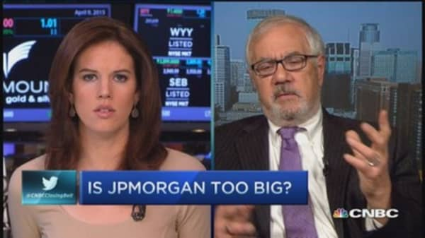 Is JPM too big?