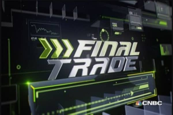 Fast Money Final Trade: ALTR. XPO, UUP & FXI