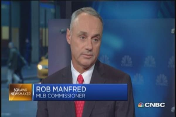 Big biz of Major League Baseball: MLB's Manfred