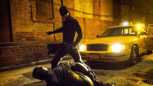 """A scene from """"Daredevil"""" on Netflix."""