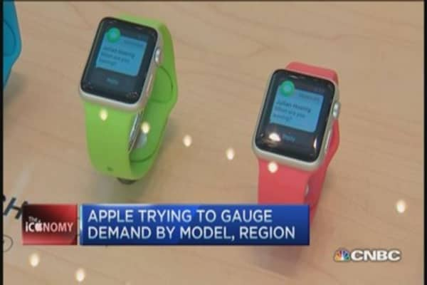 Apple Watch big hit in Big Apple?