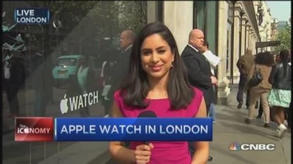 Apple Watch in London