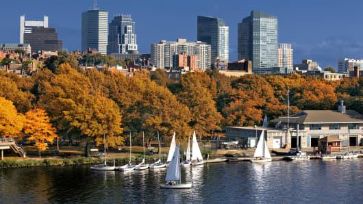 A Boston scene