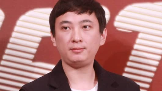 Wanda Group Chairman Wang Jianlin's son Wang Sicong.