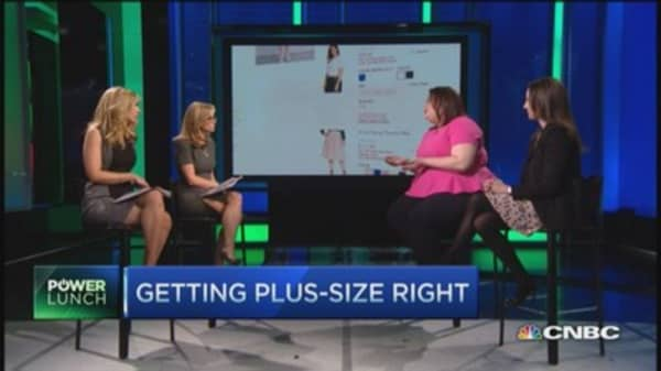 Retail's plus-size problem