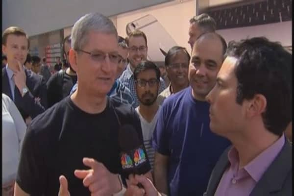 Tim Cook: Response to watch 'extraordinary'