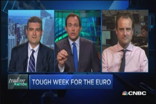 Strong dollar/weak euro bad for stocks: Pro