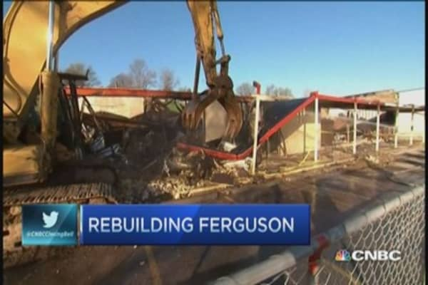 Tearing down Ferguson to build it back up