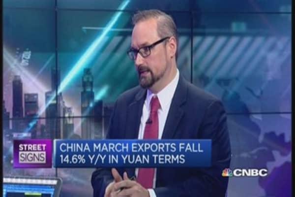 China's March trade data: A 'mea culpa'?