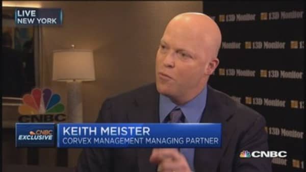 Activism's popular and it works: Keith Meister