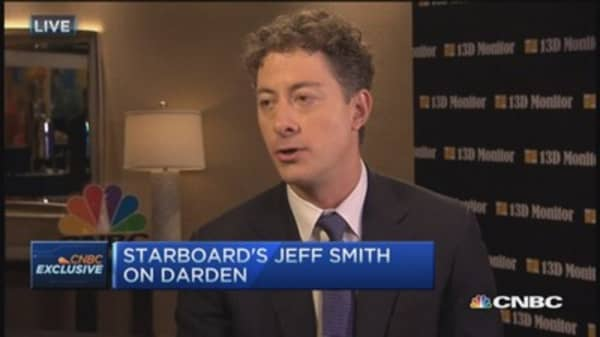 Most proud of Darden turnaround: Starboard's Smith