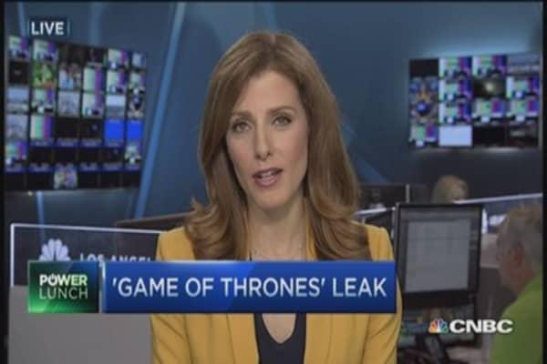 'Game of thrones' leak