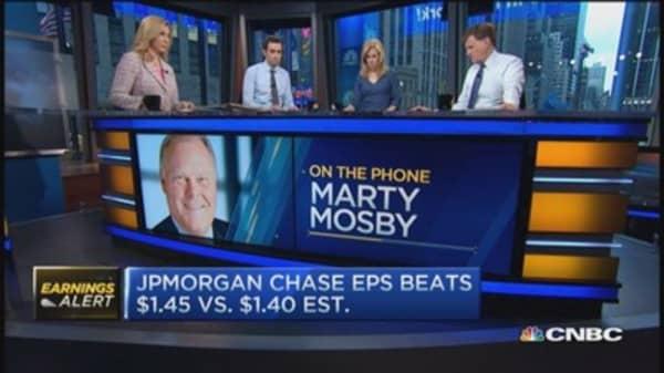 JPM beats Q1 expectations