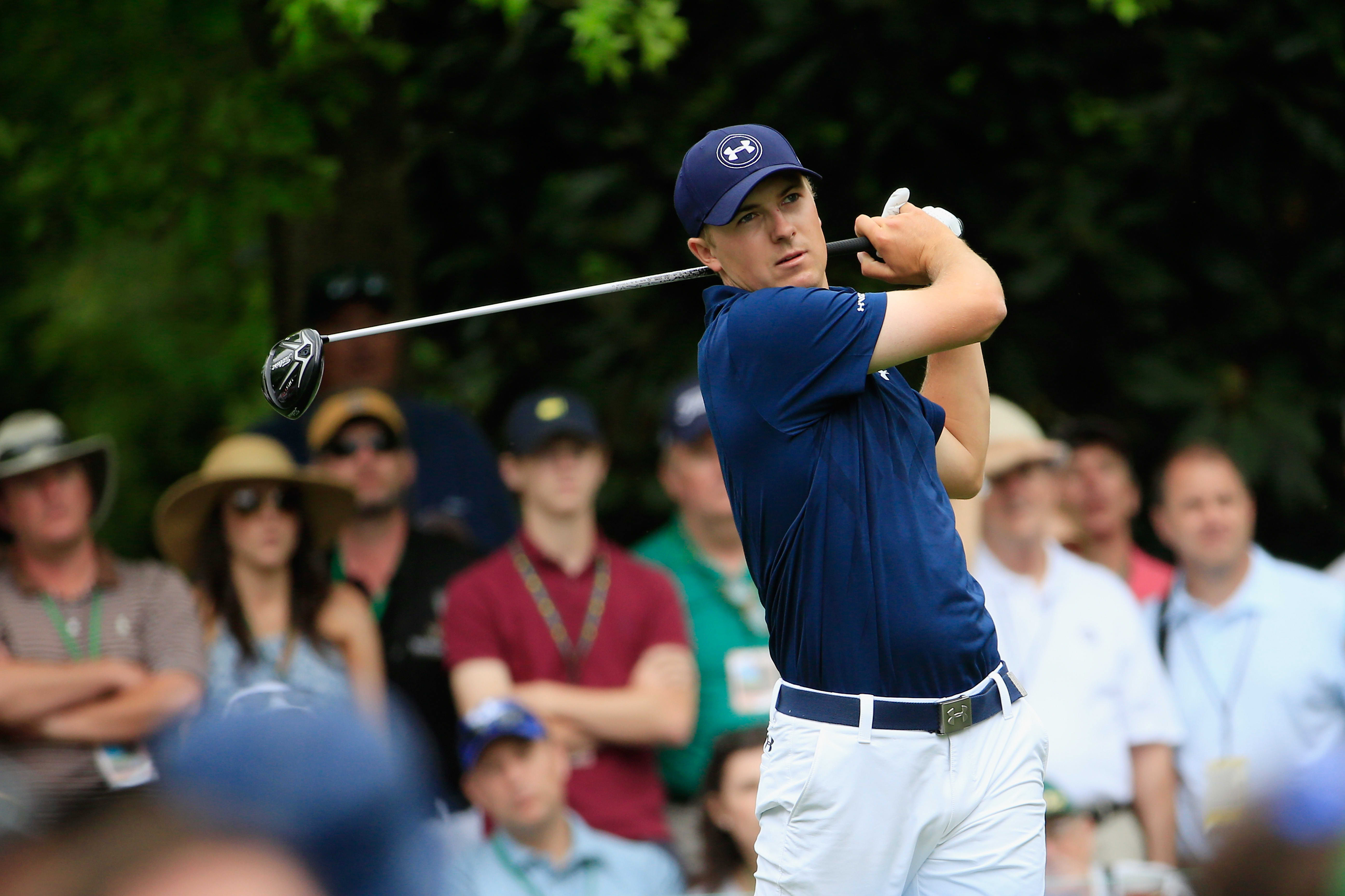 on sale 6424c 94d37 Under Armour s early bet on Masters champ Spieth pays off