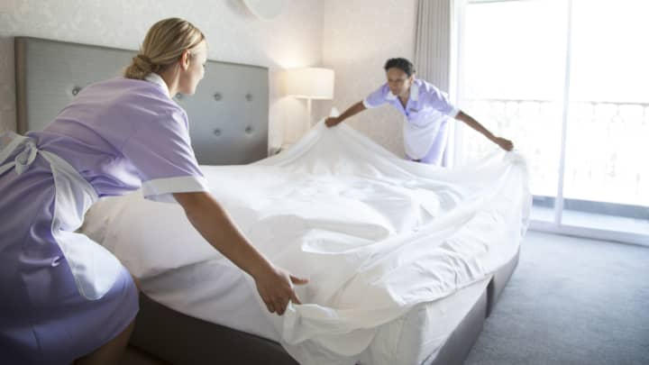 chambermaids hotel workers