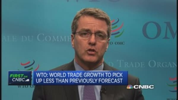WTO cuts trade outlook for 2015
