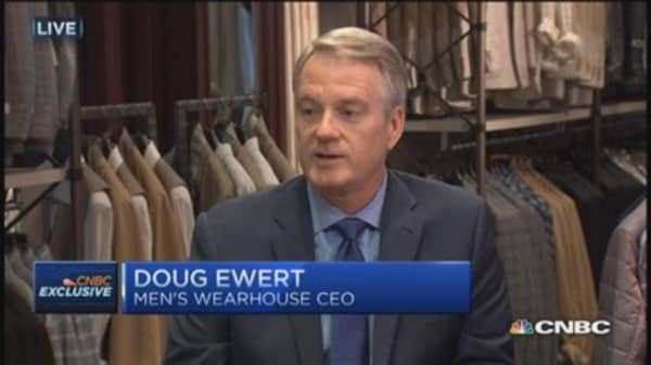 We're expanding our demographic appeal: Men's Wearhouse CEO