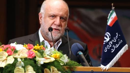 Iranian Oil Minister Bijan Zanganeh.