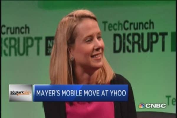 Can Marissa Mayer change the game at YHOO?
