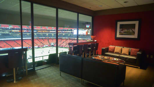 One of the suites that can be booked through SuiteHop.
