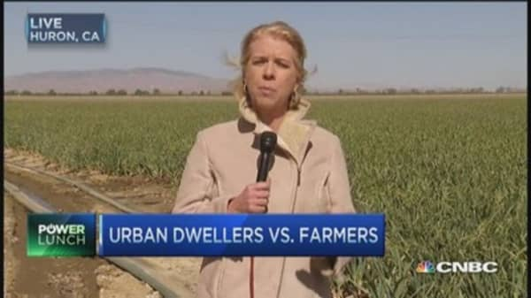 Urban dwellers vs. farmers