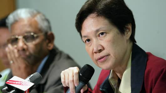 Ho Ching, CEO of Temasek