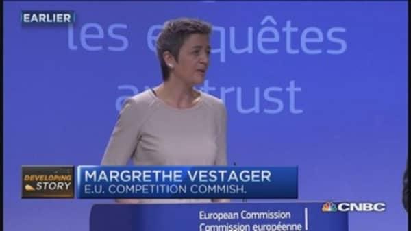 EU takes on Google